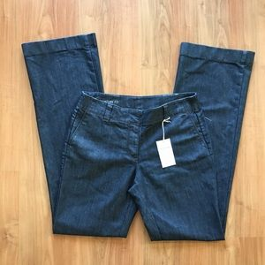 Ann Taylor Signature Fit Trousers Jeans Dark Wide